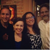 Ann Arbor 2014 event: Mark Lumley, Erin Sheppard, Kristine Diaz, and David Williams